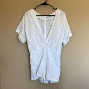 NWT Urban Outfitters linen blend romper